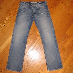 GUESS JEANS DESMOND RELAXED FIT STRAIGHT LEG 32X31